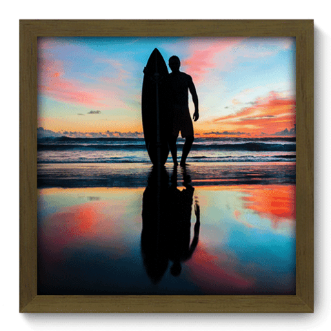 Quadro Decorativo - Surf - 023qdem