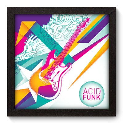 Quadro Decorativo - Acid Funk - 024qdgp