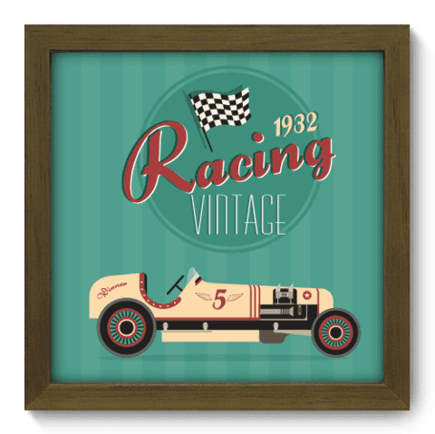 Quadro Decorativo - Racing - 024qdvm