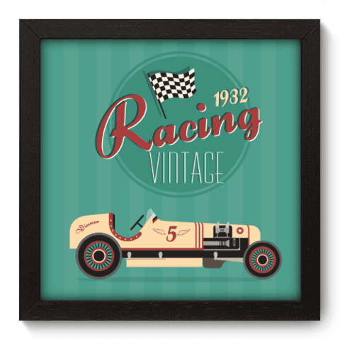 Quadro Decorativo - Racing - 024qdvp
