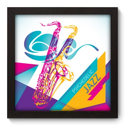 Quadro Decorativo - Jazz - 025qdgp