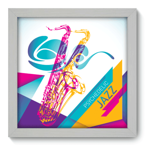 Quadro Decorativo - Jazz - 025qdgb