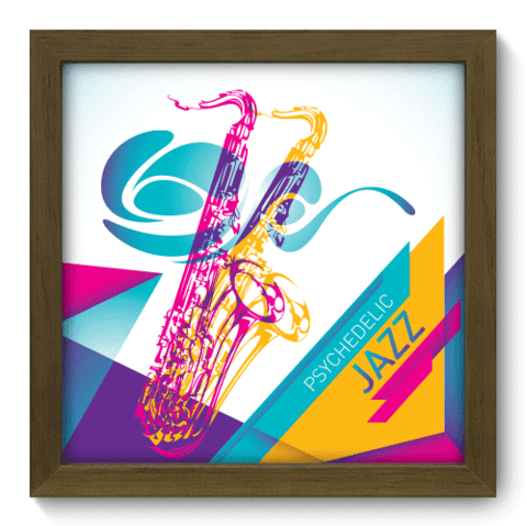 Quadro Decorativo - Jazz - 025qdgm