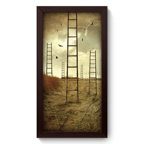 Quadro Decorativo - Escadas - 025qdpp
