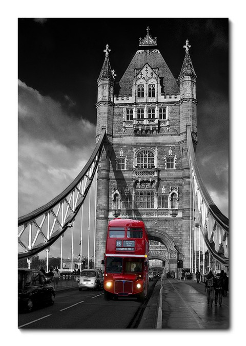 Placa Decorativa - Londres  - 0268plmk