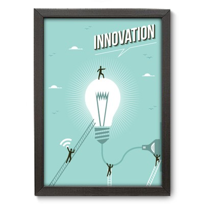 Poster Decorativo - Innovation - 026pst