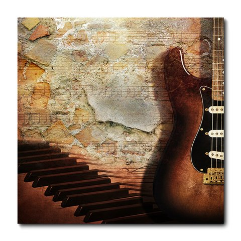 Placa Decorativa - Guitarra - 0272plmk
