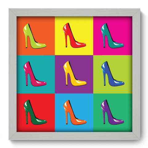 Quadro Decorativo - Shoes - 028qdvb