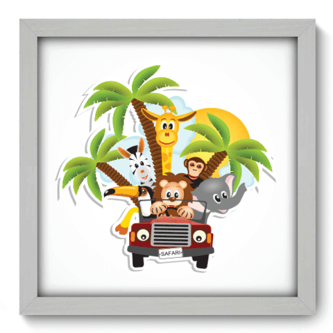 Quadro Decorativo - Safari - 031qdbb