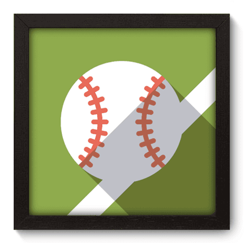 Quadro Decorativo - Baseball - 031qdep