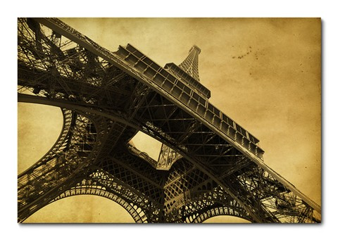 Placa Decorativa - Torre Eiffel - Paris - 0332plmk