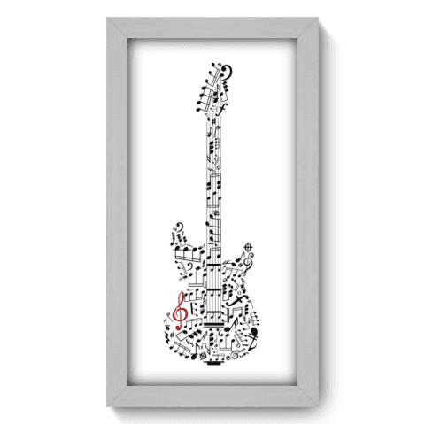 Quadro Decorativo - Guitarra - 033qdgb