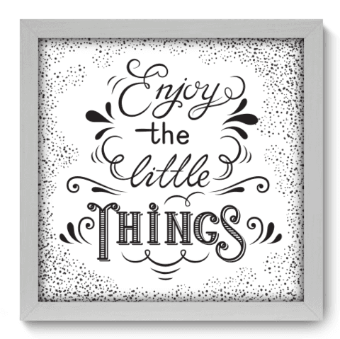 Quadro Decorativo - Enjoy - 033qdrb