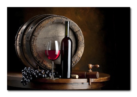 Placa Decorativa - Vinho - 0342plmk