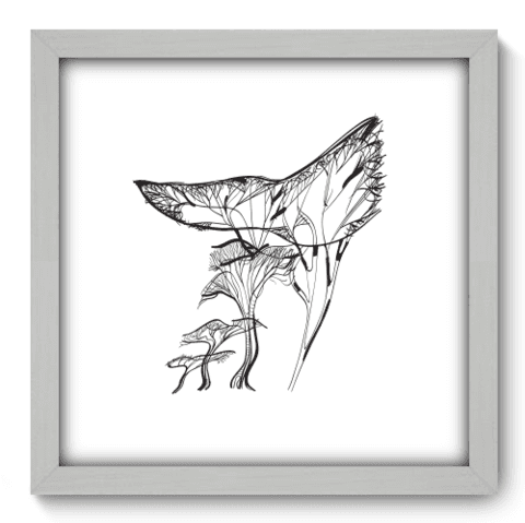 Quadro Decorativo - Tree - 036qdab