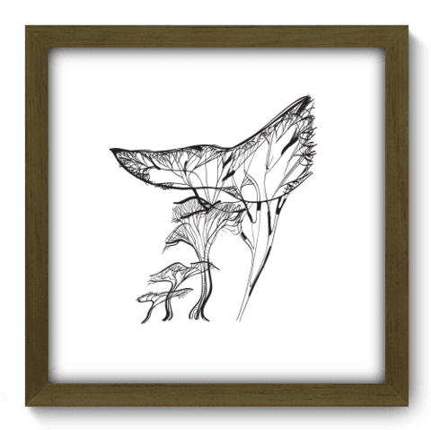 Quadro Decorativo - Tree - 036qdam