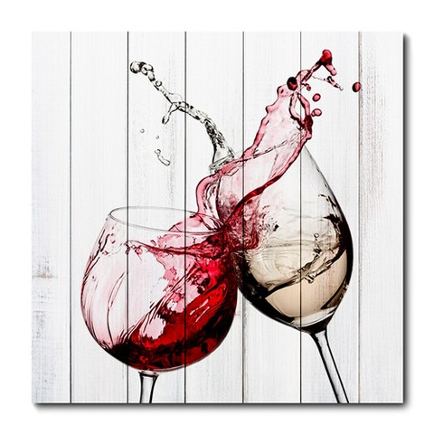 Placa Decorativa - Vinho - 0378plmk