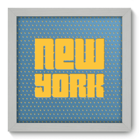 Quadro Decorativo - New York - 037qdmb