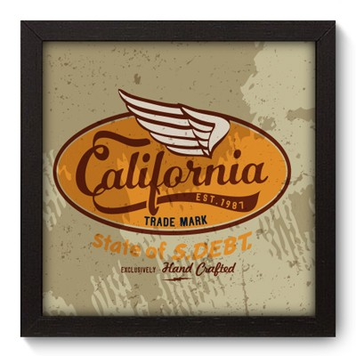 Quadro Decorativo - California - 037qdvp