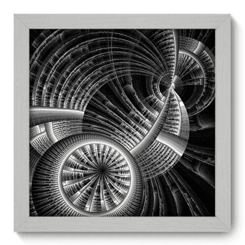 Quadro Decorativo - Illusion - 038qddb