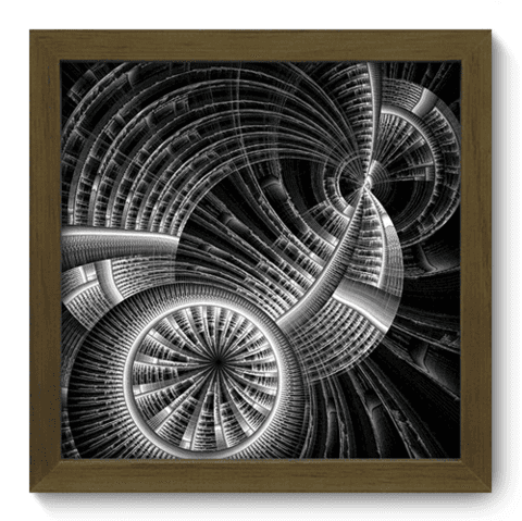 Quadro Decorativo - Illusion - 038qddm