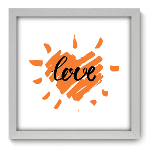 Quadro Decorativo - Love - 039qdob
