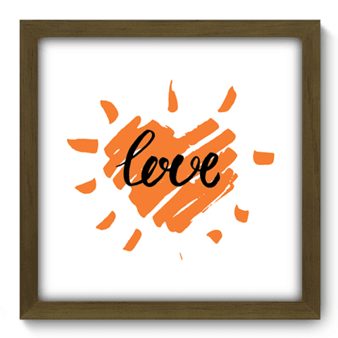 Quadro Decorativo - Love - 039qdom