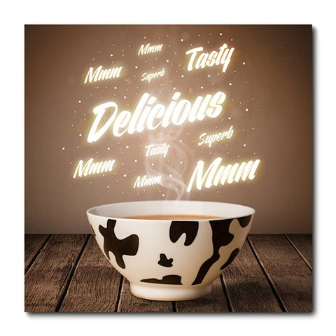 Placa Decorativa - Café - 0419plmk