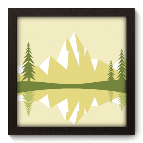 Quadro Decorativo - Alpes - 041qdpp
