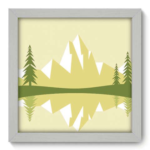 Quadro Decorativo - Alpes - 041qdpb