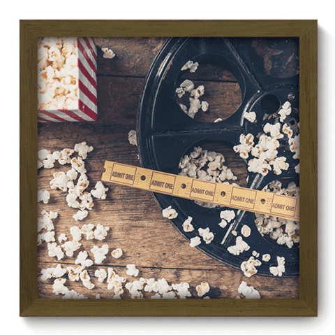 Quadro Decorativo - Cinema - 042qdhm