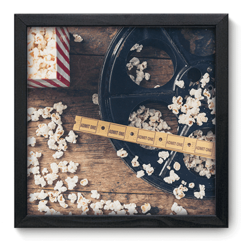 Quadro Decorativo - Cinema - 042qdhp
