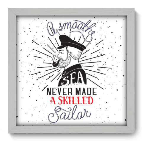 Quadro Decorativo - Sailor - 042qdrb