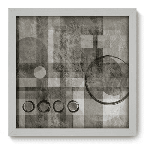 Quadro Decorativo - Abstrato - 043qddb