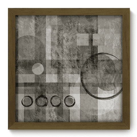 Quadro Decorativo - Abstrato - 043qddm