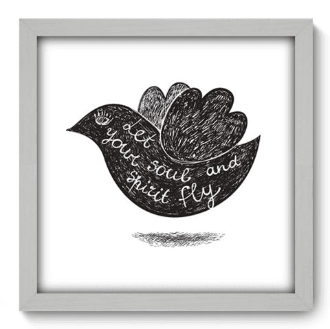 Quadro Decorativo - Let it Fly - 043qdrb