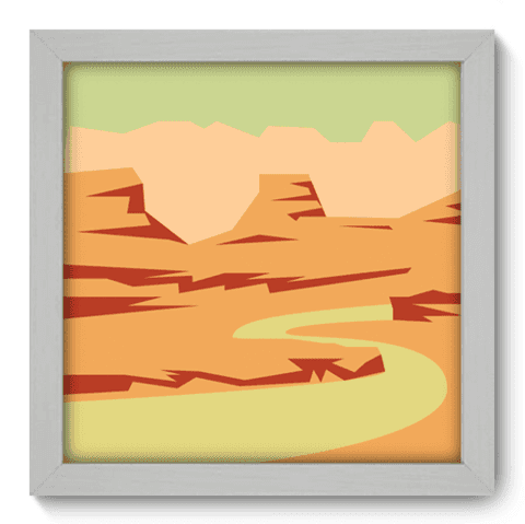 Quadro Decorativo - Canyon - 044qdpb