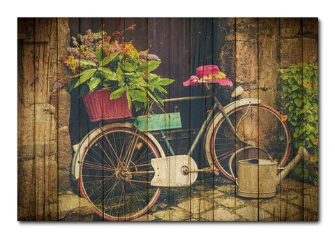 Placa Decorativa - Bicicleta - 0472plmk