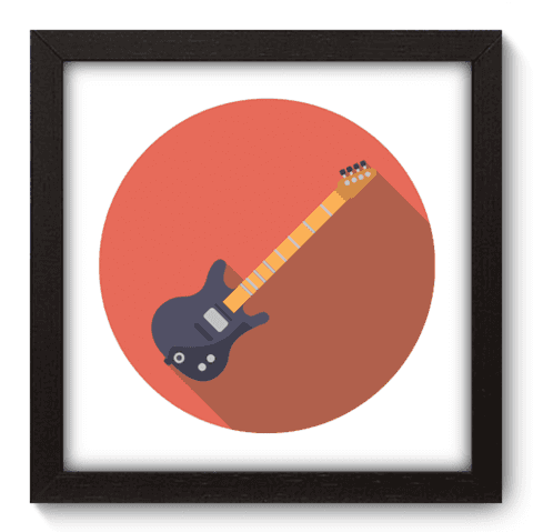 Quadro Decorativo - Guitarra - 048qdgp
