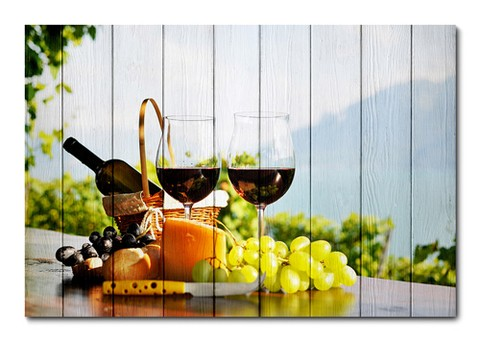 Placa Decorativa - Vinho - 0496plmk