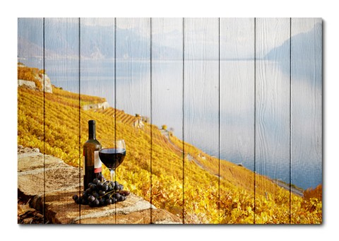 Placa Decorativa - Vinho - 0497plmk