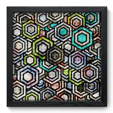 Quadro Decorativo - Abstrato - 049qdap