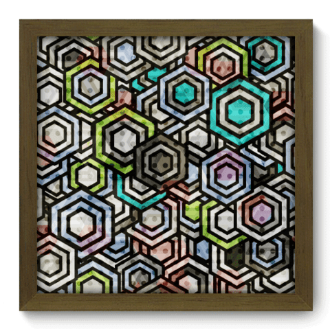 Quadro Decorativo - Abstrato - 049qdam