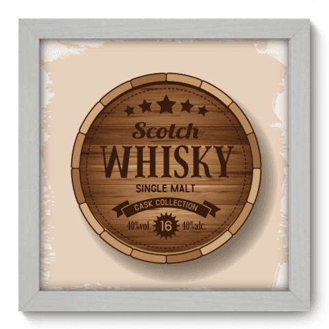 Quadro Decorativo - Whisky - 049qddb