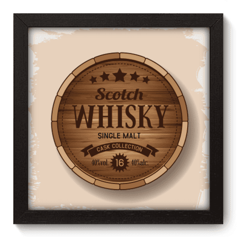 Quadro Decorativo - Whisky - 049qddp