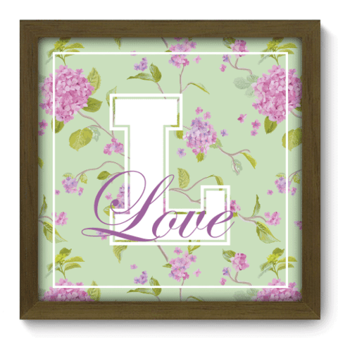 Quadro Decorativo - Love - 049qdim