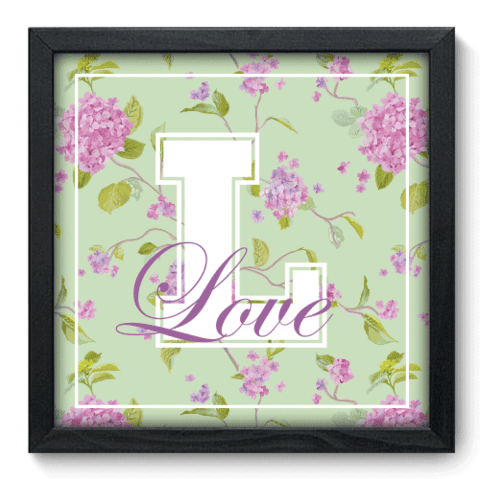 Quadro Decorativo - Love - 049qdip
