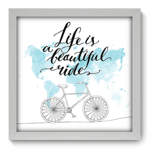Quadro Decorativo - Beautiful Ride - 049qdrb