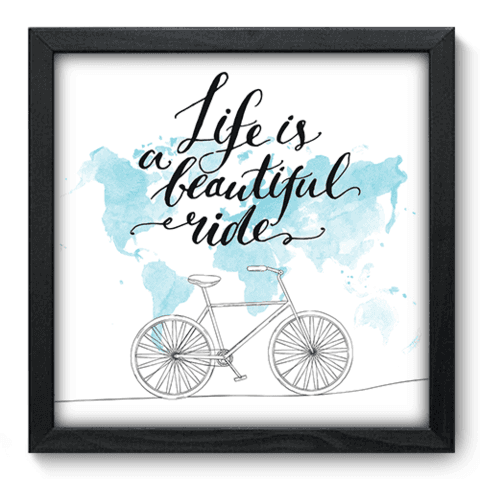 Quadro Decorativo - Beautiful Ride - 049qdrp