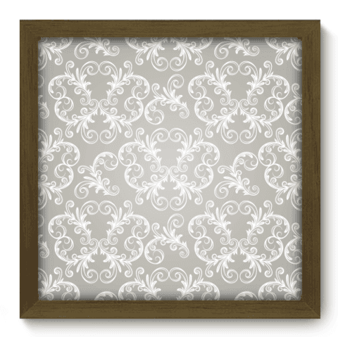 Quadro Decorativo - Damasco - 049qdvm